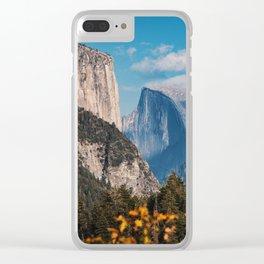 Yosemite in Fall Clear iPhone Case