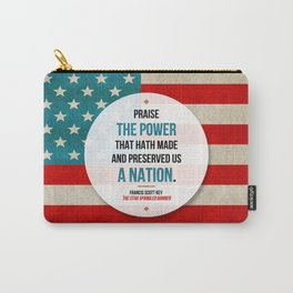 Preserved us a Nation Carry-All Pouch