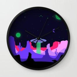 Hello ufo Wall Clock