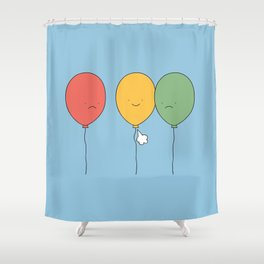 Let it go! Shower Curtain