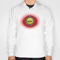 ferrari Hoodies featuring Ferrari Dino by Rainer Steinke