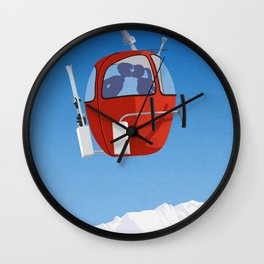 Grand Massif Wall Clock