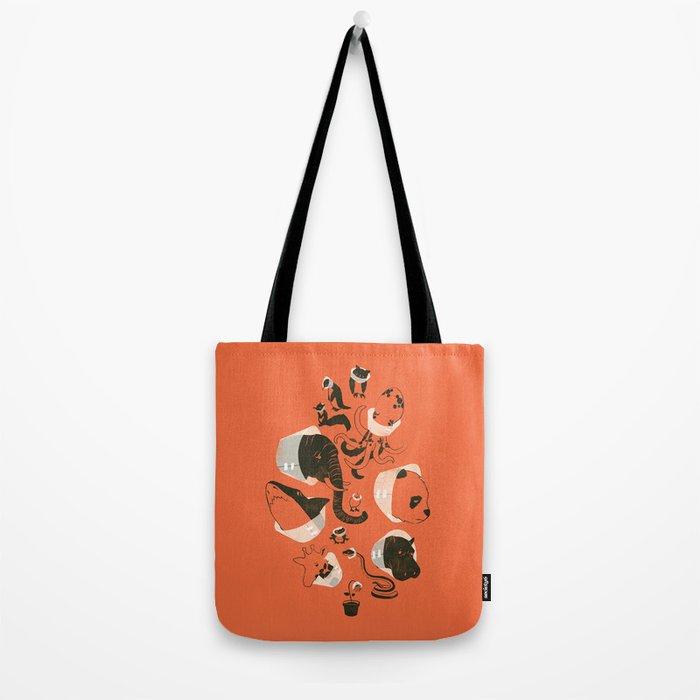 Cones of Shame (orange) Tote Bag