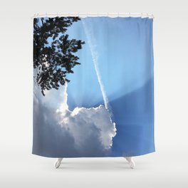 Eclipsed By A Cloud Shower Curtain