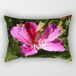 Hong Kong Orchid Rectangular Pillow