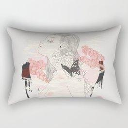 Sleeping Forest Rectangular Pillow