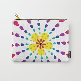Petal Burst Carry-All Pouch