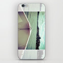 Sometime This Life, I'm Going to Sail Away iPhone Skin