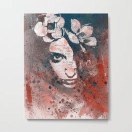 Red Hypothermia Metal Print