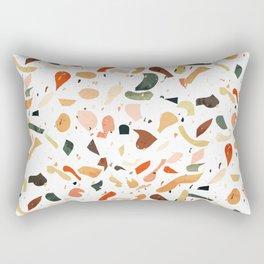 Vintage Terrazzo Pattern Rectangular Pillow