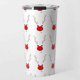 Rudolf the red nose reindeer Travel Mug
