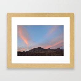 Sunrise at Big Bend II Framed Art Print