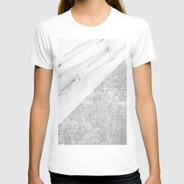 Grey / White Marble T-shirt