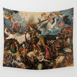 Pieter Bruegel the Elder The Fall of the Rebel Angels Wall Tapestry