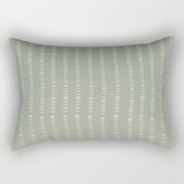 succulent green lines Rectangular Pillow