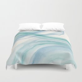 Sea Foam Duvet Cover