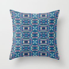 Palm Springs Pink #4 Throw Pillow
