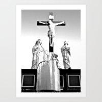 religious Art Prints featuring Religious aesthetics by Vorona Photography