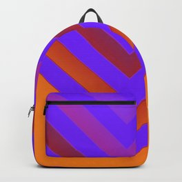 Sunset Chevron Backpack