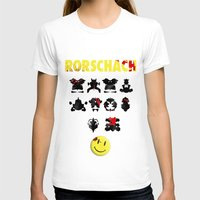 rorschach T-shirts featuring Rorschach by Gabriel Freire