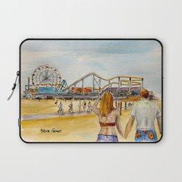 Santa Monica Pier Ferriswheel Laptop Sleeve