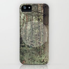 Cycle (Forest) iPhone Case