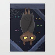Benton Bat  Canvas Print