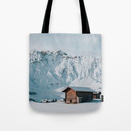 Hello Winter - Landscape and Nature Photography Tote Bag
