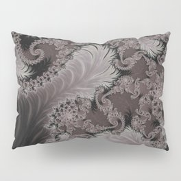 Folding Feathers - Fractal Art  Pillow Sham