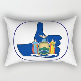 Thumbs Up New York Rectangular Pillow