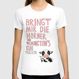 Wilmington's Cow T-shirt