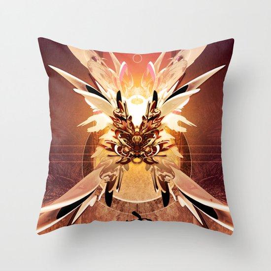 Krysaliss Throw Pillow