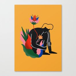 Lonely blossom Canvas Print