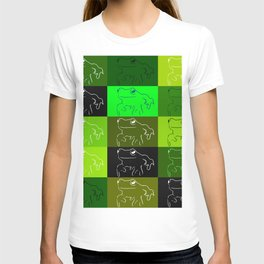 Green tree frog pattern, drawings of frogs, in green, for stickers, frog stickers, T-shirt