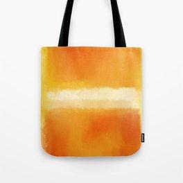 Mark Rothko Interpretation Orange On Orange Tote Bag