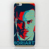 moriarty iPhone & iPod Skins featuring MORIARTY by Pop Atelier