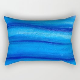 Marine abstract Rectangular Pillow