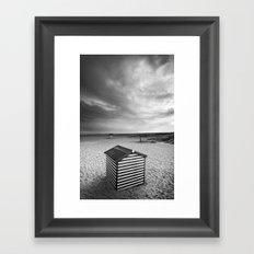 Beach Huts, Great Yarmouth Framed Art Print