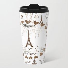 Bonjour Paris Travel Mug