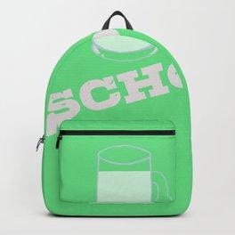 Lustiger Spruch Container Schorle Weißwein mit Wasser Wein Backpack