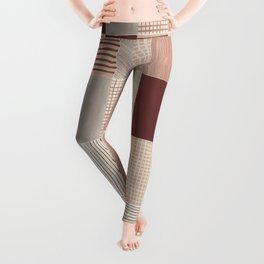 Rustic Tiles 03 #society6 #pattern Leggings