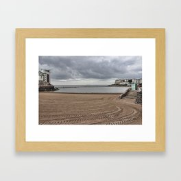 Marine Lake Weston-super-Mare Framed Art Print