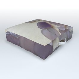 Genuine Purple Sea Glass Collection Outdoor Floor Cushion