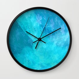 ghost in the swimming pool #003 Wall Clock