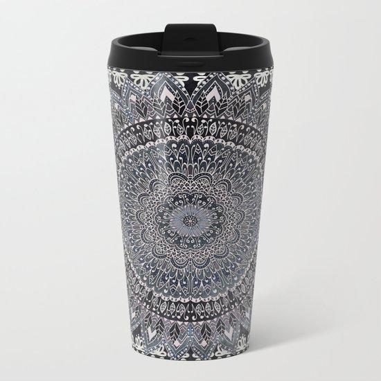 MANDALIKA MOON Metal Travel Mug