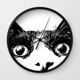 pussycat Wall Clock