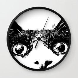 pussycat cat Wall Clock
