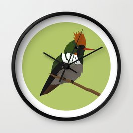 Frilled Coquette Wall Clock