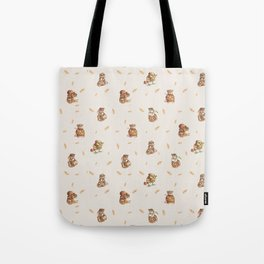Cute French Bakery Tote Bag