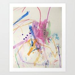 M-painting Art Print